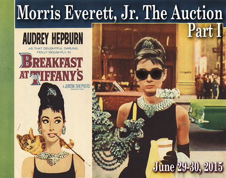 Breakfast at Tiffany's at Morris Everett, Jr. The Auction by Profiles in History