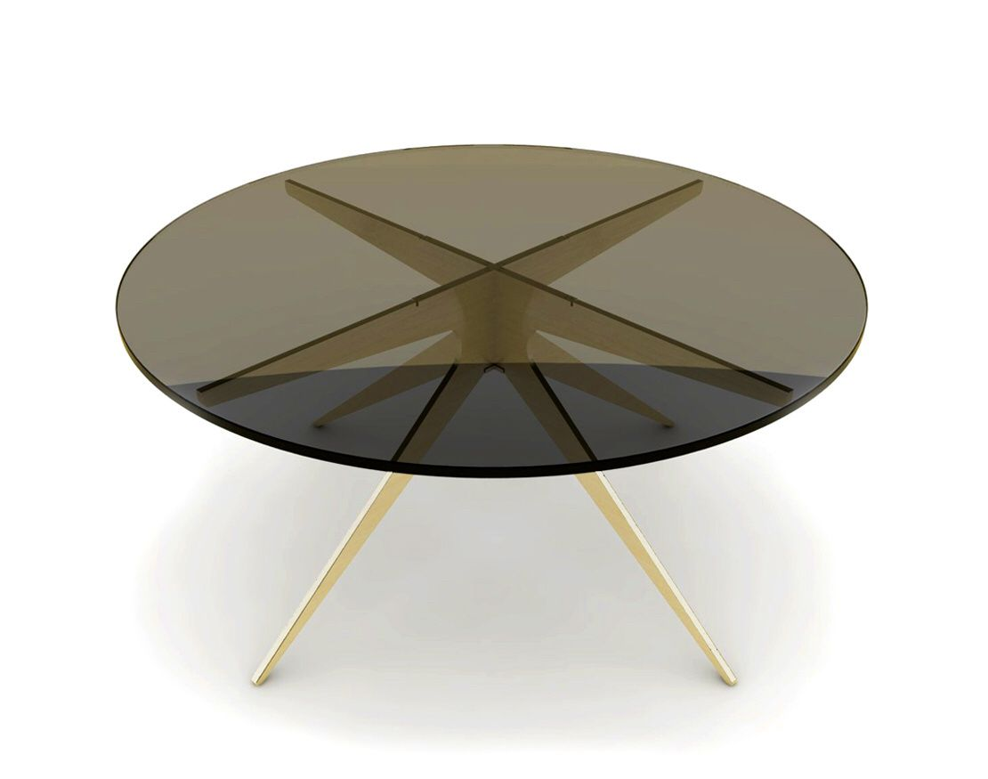Dean Round Coffee Table by Gabriel Scott