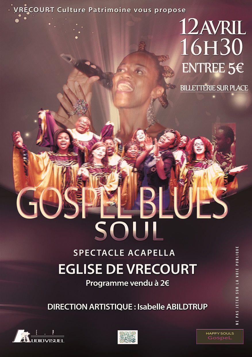 Vrecourt Concert Le 12 Avril Sous Signe Du Gospel Culture Patrimoine