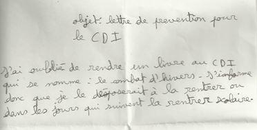 Anecdote de doc 87