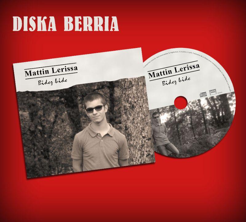 Le premier CD de Mattin Lerissa.