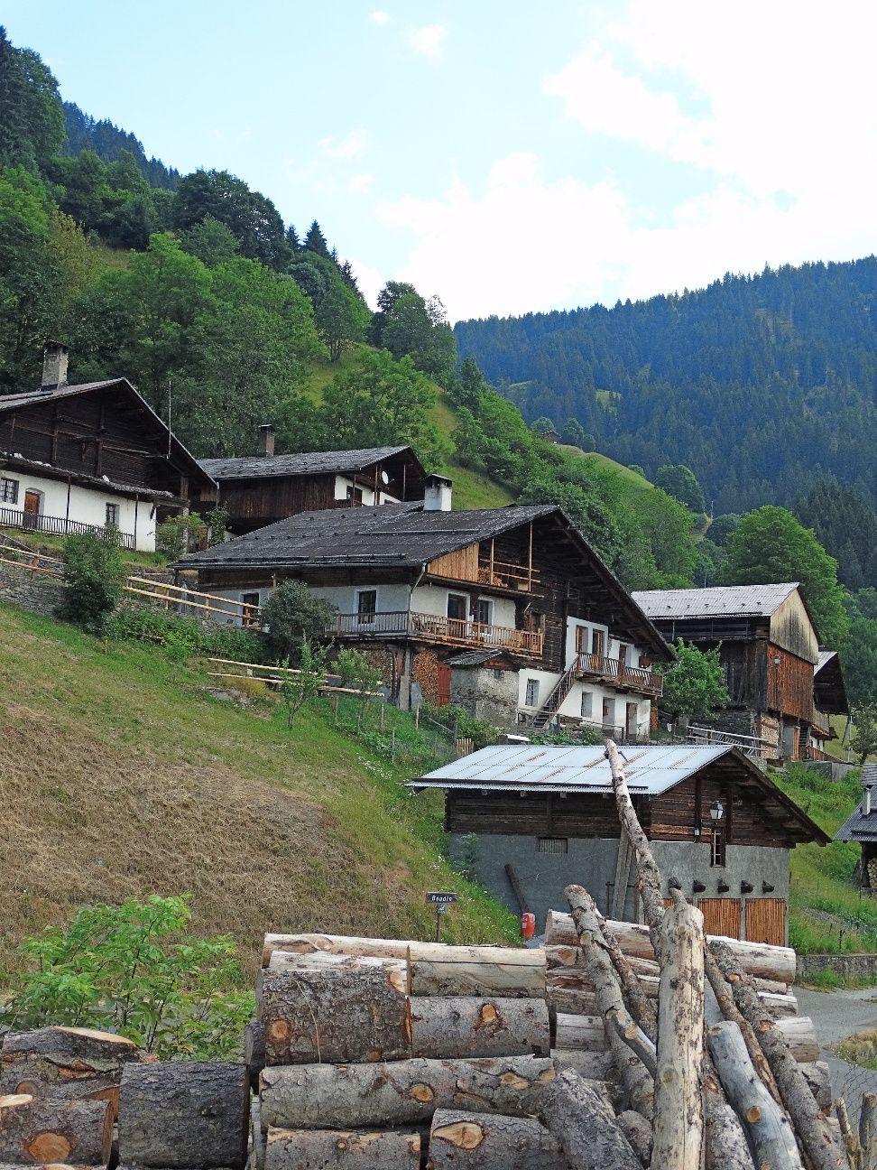 Le hameau de Boudin.