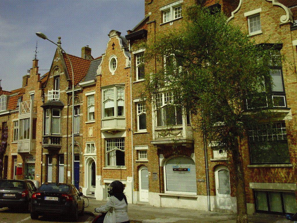 Goldwing - Visite de la Belgique 2ème jour : Brugges et la côte flamande en moto
