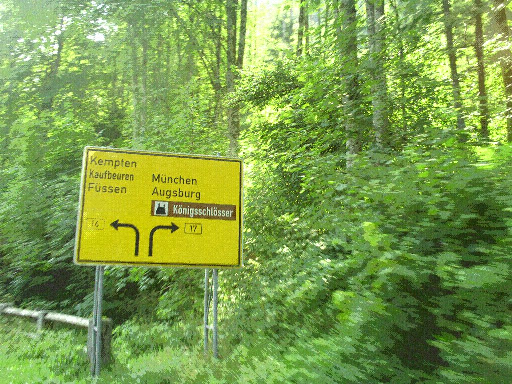 Goldwing Unsersbande - Retour de Landeck vers Strasbourg en moto