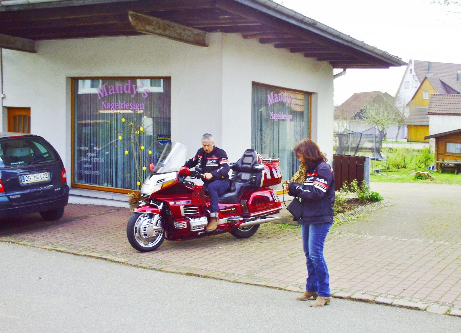 Goldwing - Ballade tout schuss vers la schwartzwald avec découverte de la goldwing kinder