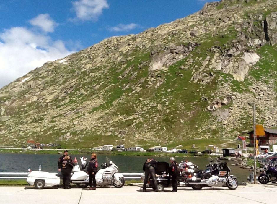 Goldwing - du lac Maggiore (Italie) à l'Alsace (France) via le gothard (Suisse)