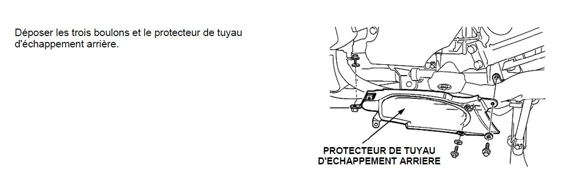"Goldwing - changer ce ""punaise"" de joint spy du sélecteur de vitesse goldwing 1500"