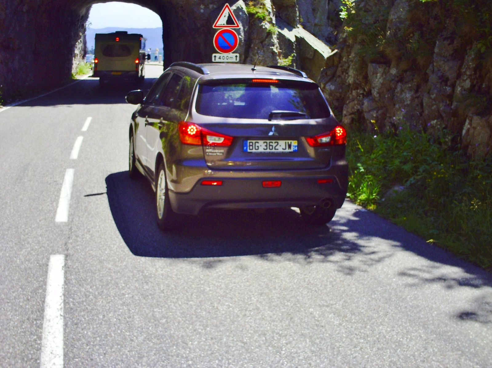 ON DESCEND LE COL DE LA SCHLUCHT......MAUDIT CAMPING CAR