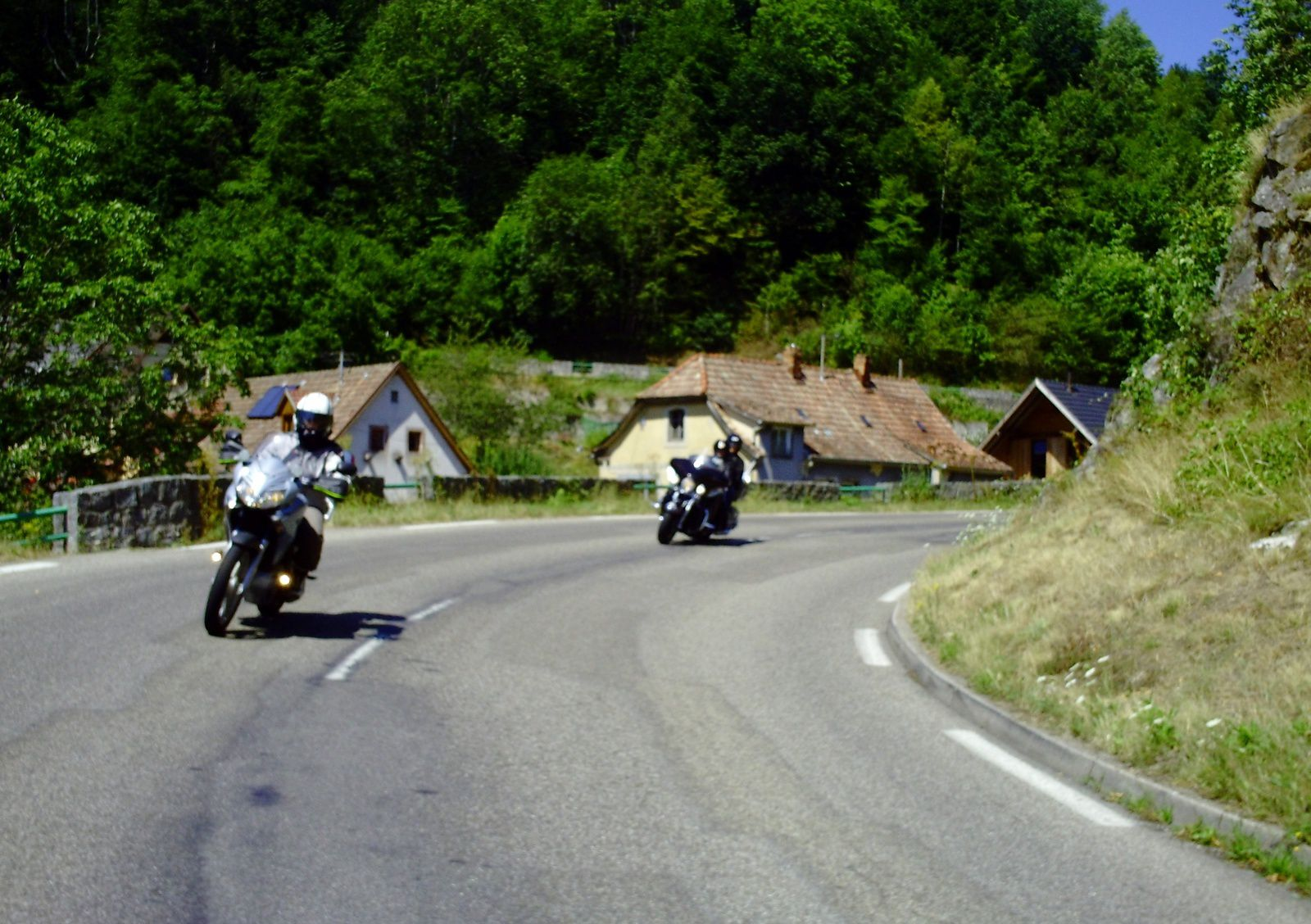 Goldwing - Ballade à travers les vosges en moto