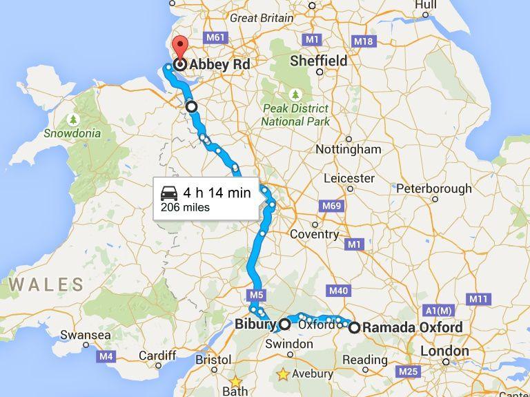 Goldwing - Traverser l'Angleterre en 5 jours vers l'Irlande en moto 4/5