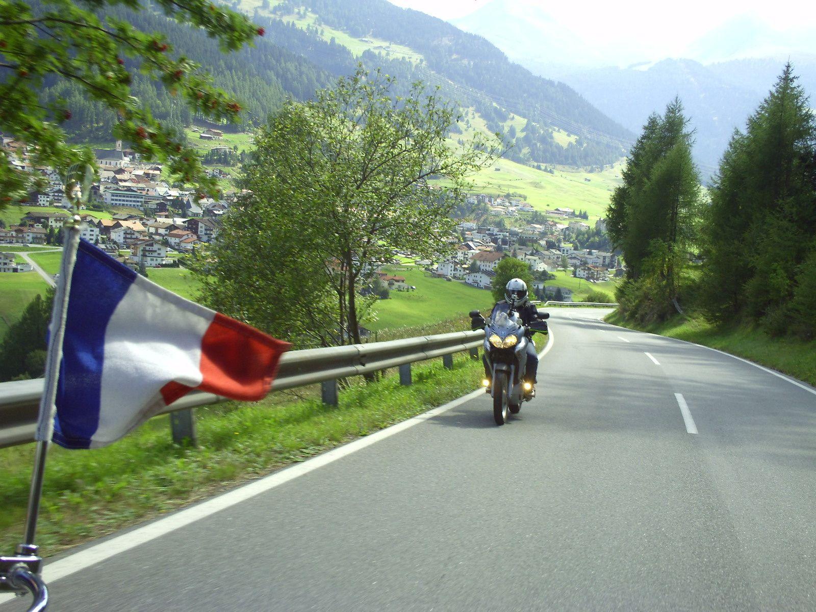 Goldwing - voyage au Tyrol en gold 1800 et varadero 125 5/6