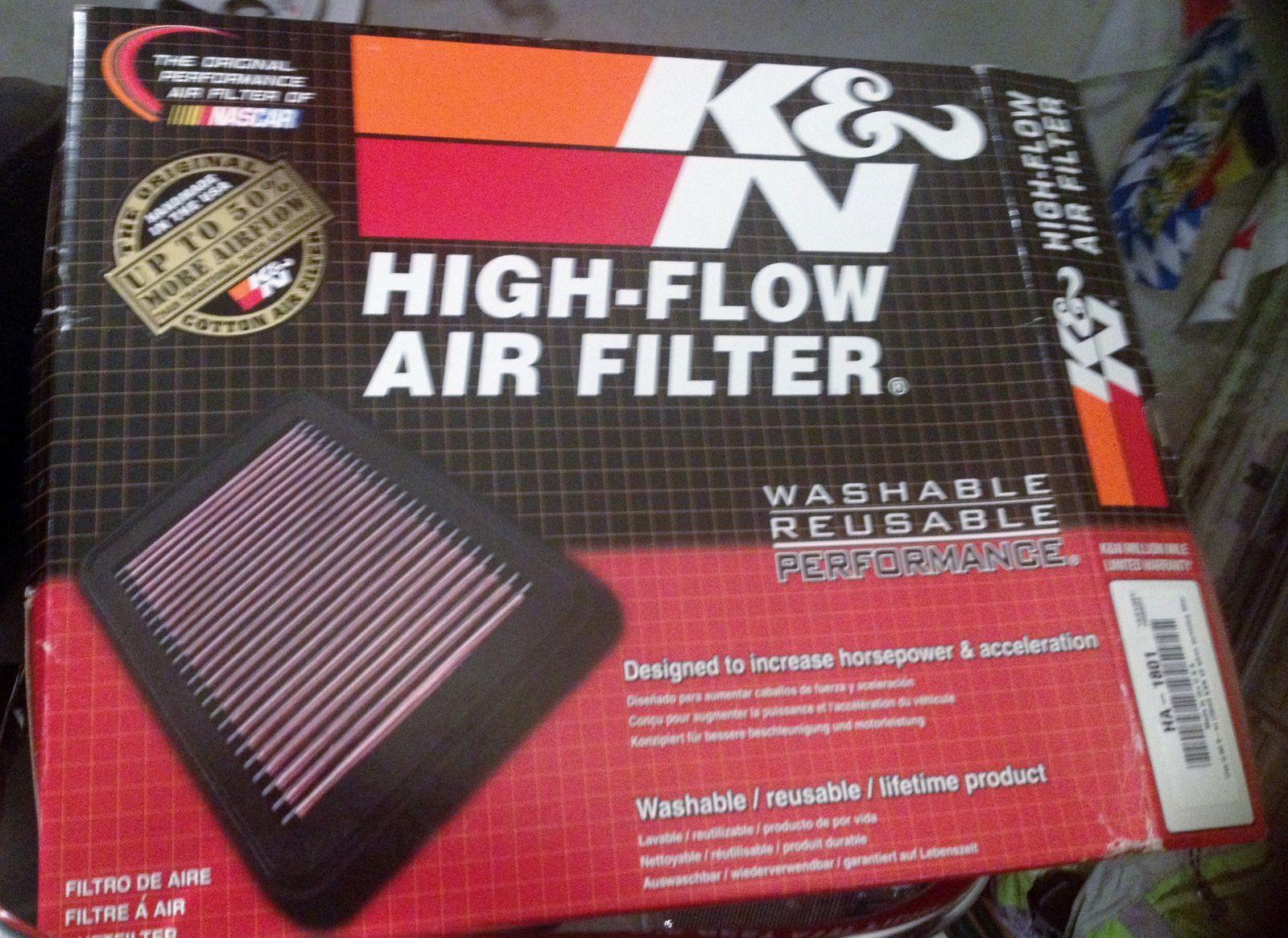 Goldwing 1800 - changer le filtre à air par un filtre KN (2ème partie)