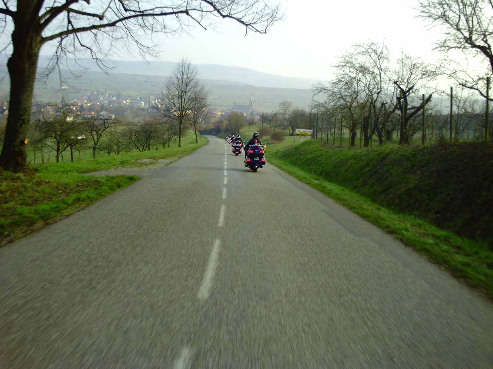 Goldwing - Ballade du 1er jour du printemps 2016