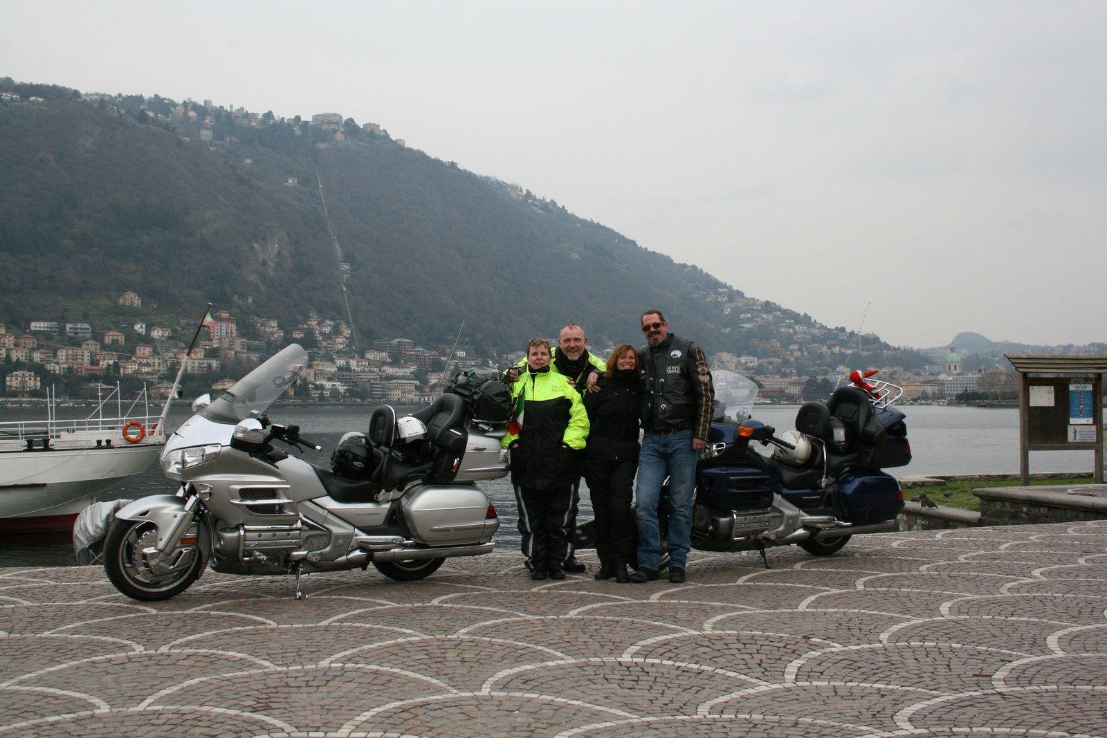 Goldwing - Voyage de 4 jours à Venise à moto 03/2016 - 1er jour