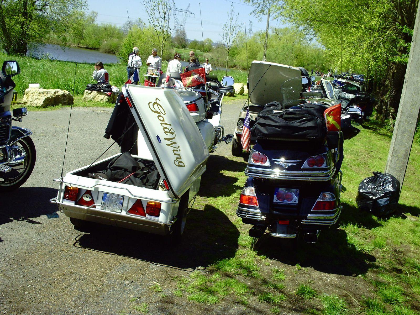Goldwing - Week-end de 4 jours en Champagne en moto 1/4
