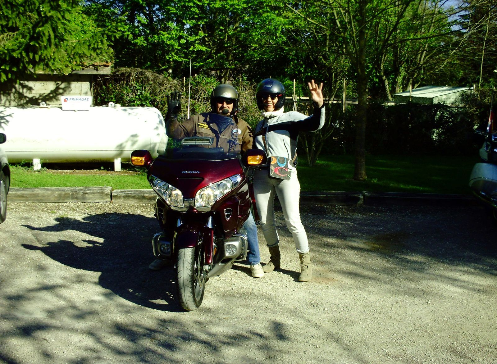 Goldwing - Week-end de 4 jours en Champagne en moto 2/4