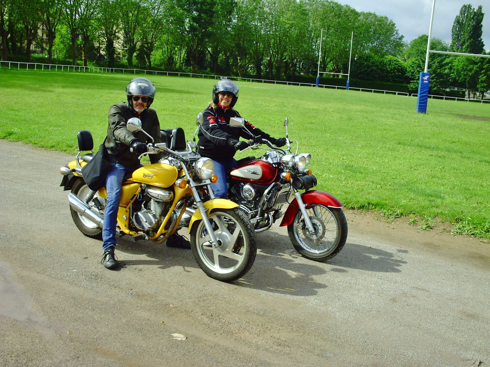 Rencontre entre bikers