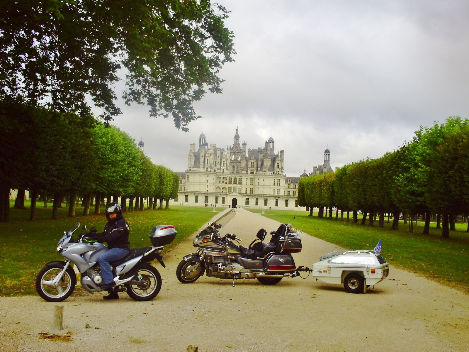 Goldwing - direction Parthenay via Chambord - 2013
