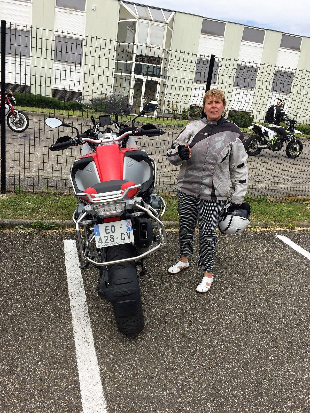 Goldwing - J'ai essayé la fameuse GS 1200 adventure