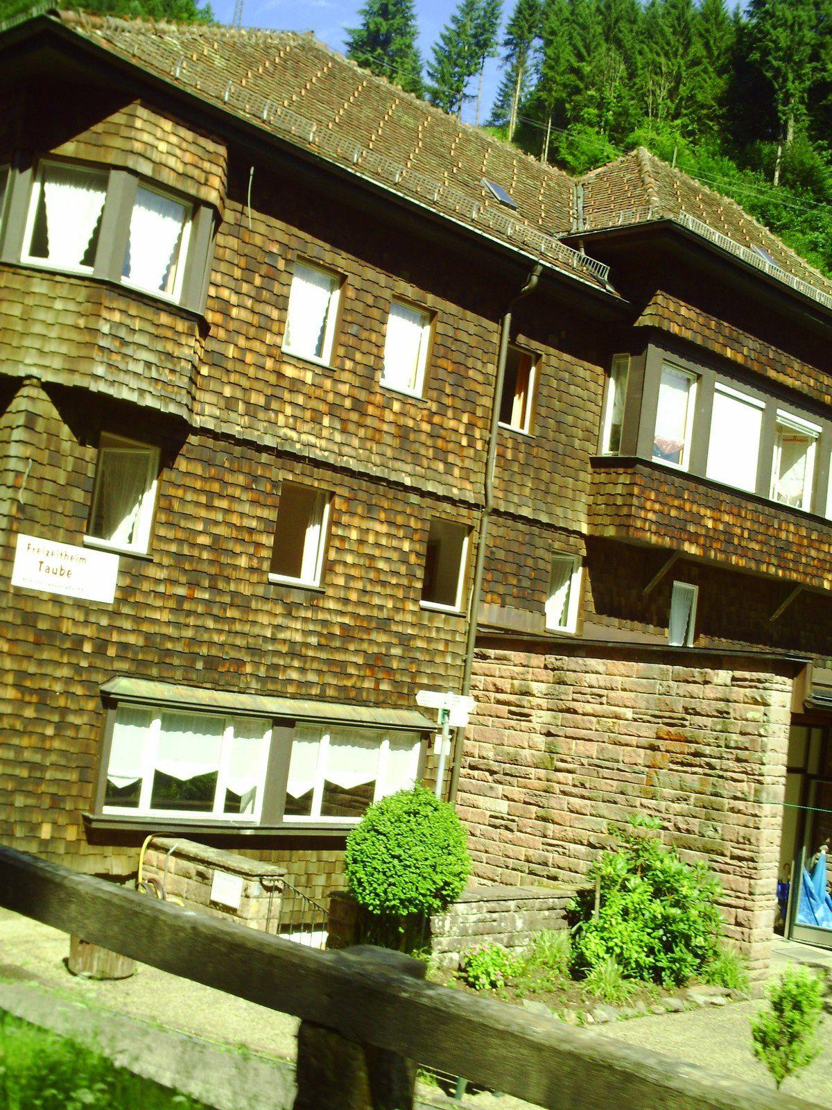 Goldwing  - Petite ballade vers le lac Mummelsee en forêt noire avec la 125 varadero