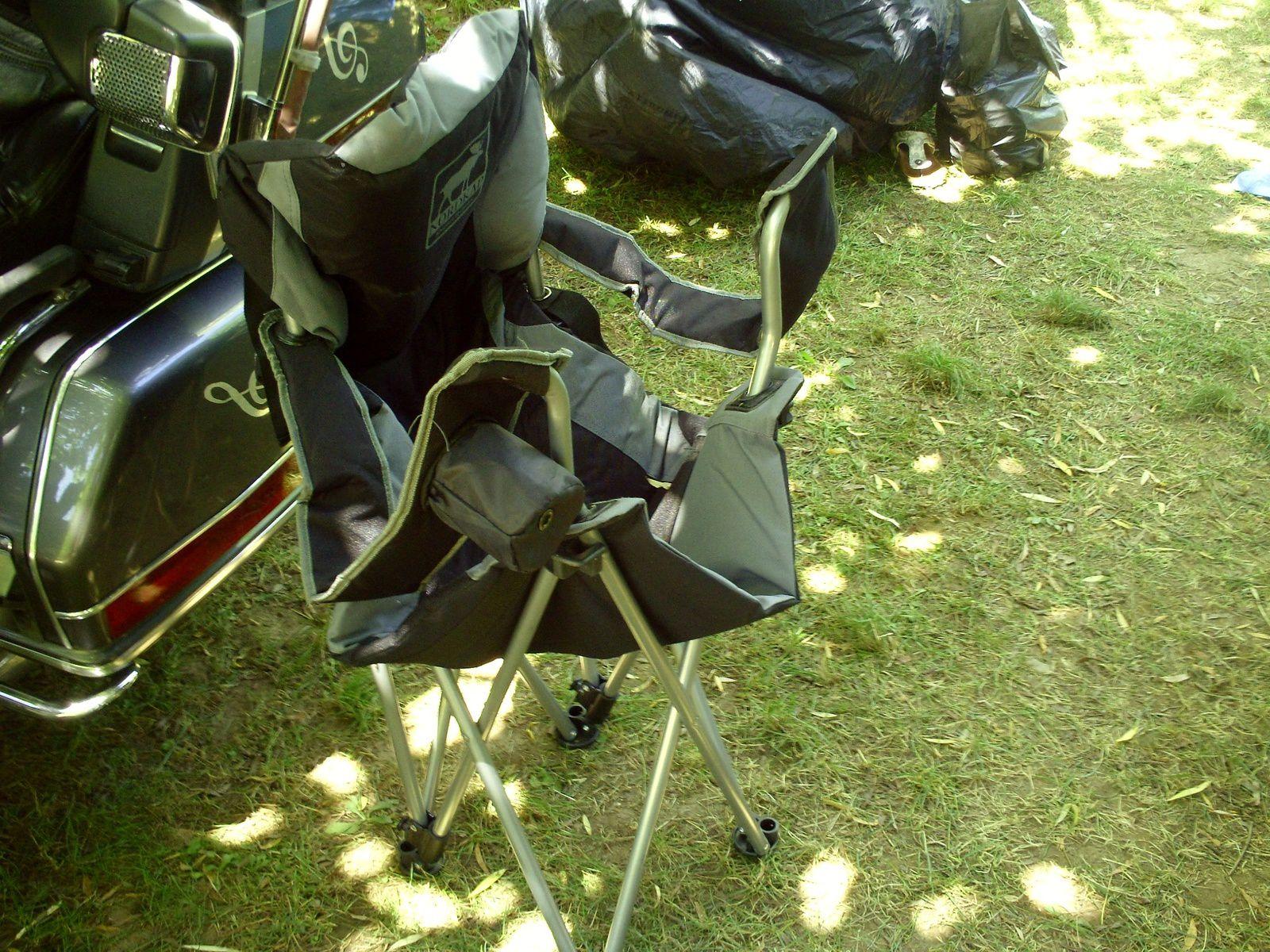 Goldwing - Notre tente KHYAM Freelander camping moto