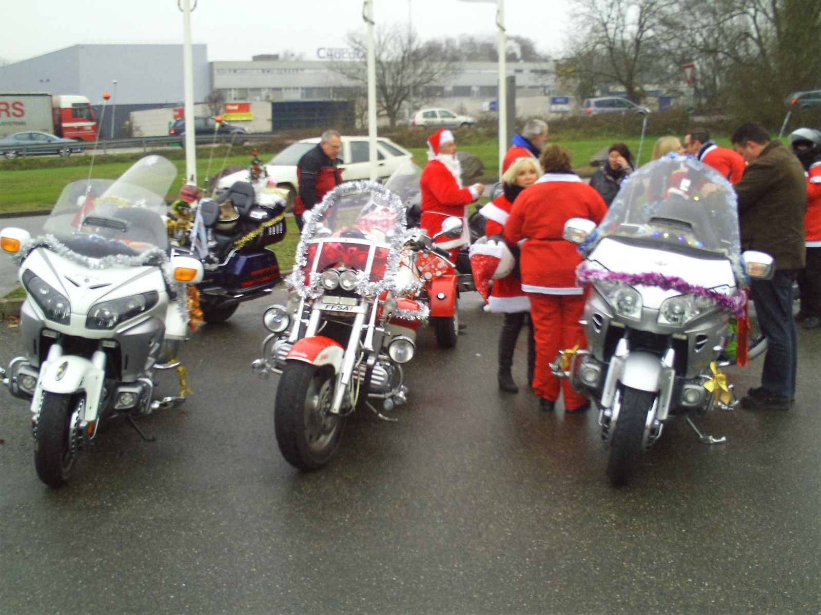 Goldwing - Notre premier Noël goldwing du Unsersbande 2016