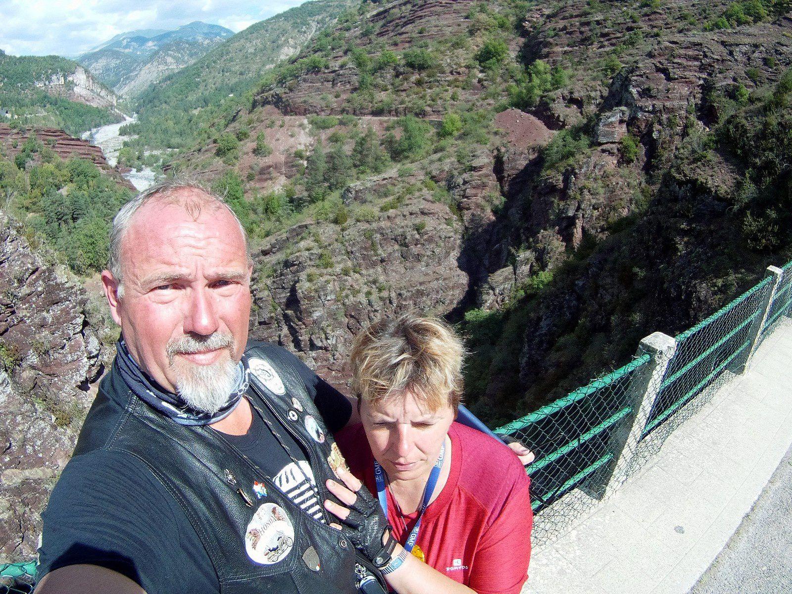 Goldwing - Notre voyage dans les Hautes-Alpes en Goldwing 1800 et Varadero 125 - 7ème jour 1/2