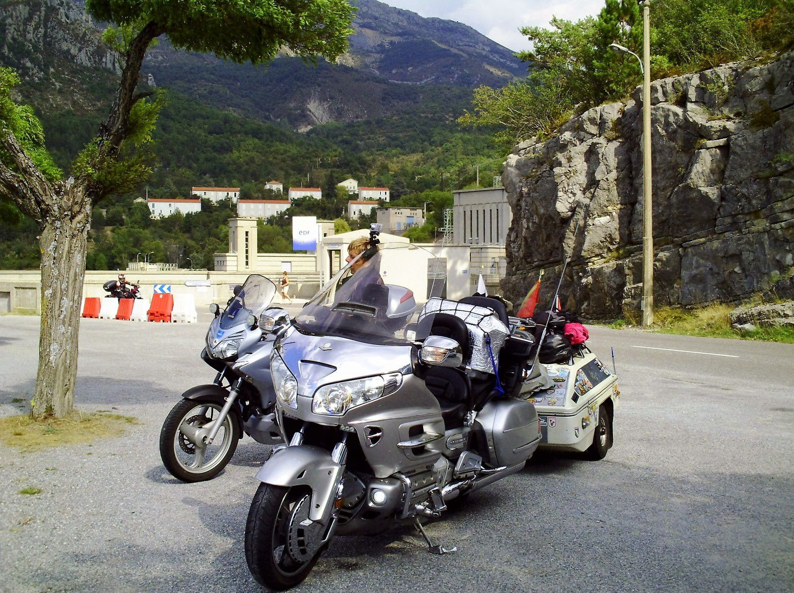 Goldwing - Notre voyage dans les Hautes-Alpes en Goldwing 1800 et Varadero 125 - 7ème jour 2/2