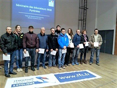 SEMINAIRE DES EDUCATEURS - TOULOUSE - 21/01/2017