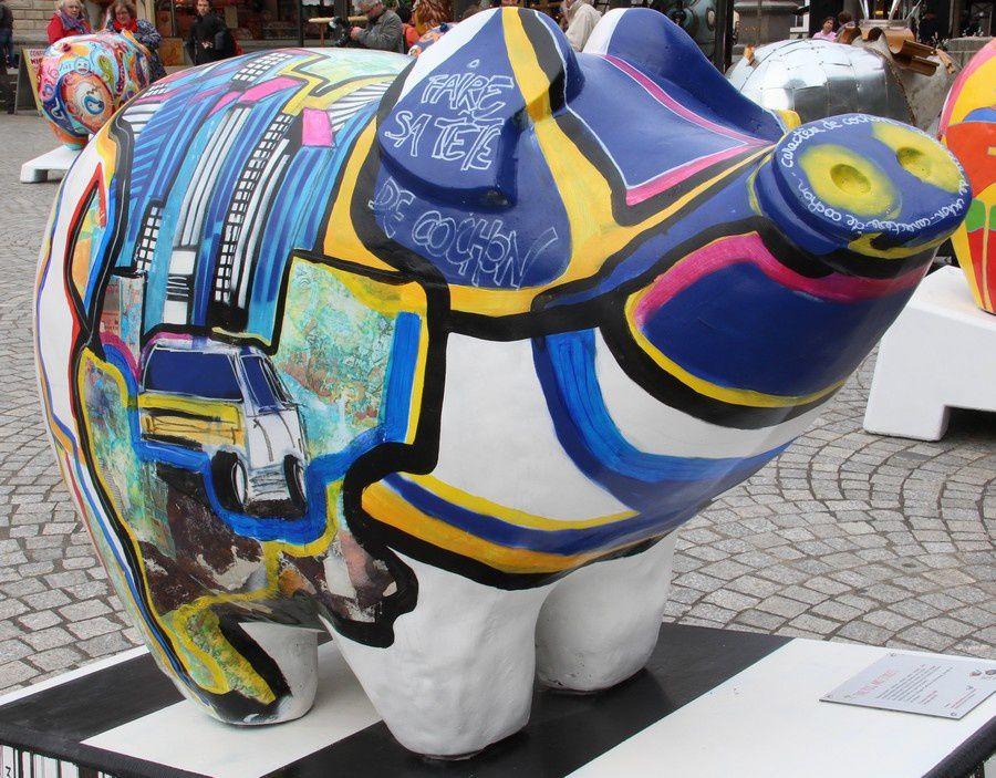 La Pig Parade à Quimper