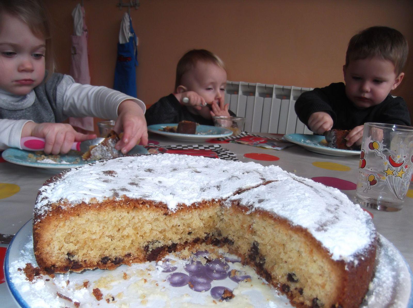 &quot&#x3B;Gâteau pépites de chocolats pour Mathys&quot&#x3B; Janvier 2017