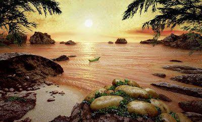 L'île flottante de mon enfance de Marie Rouanet