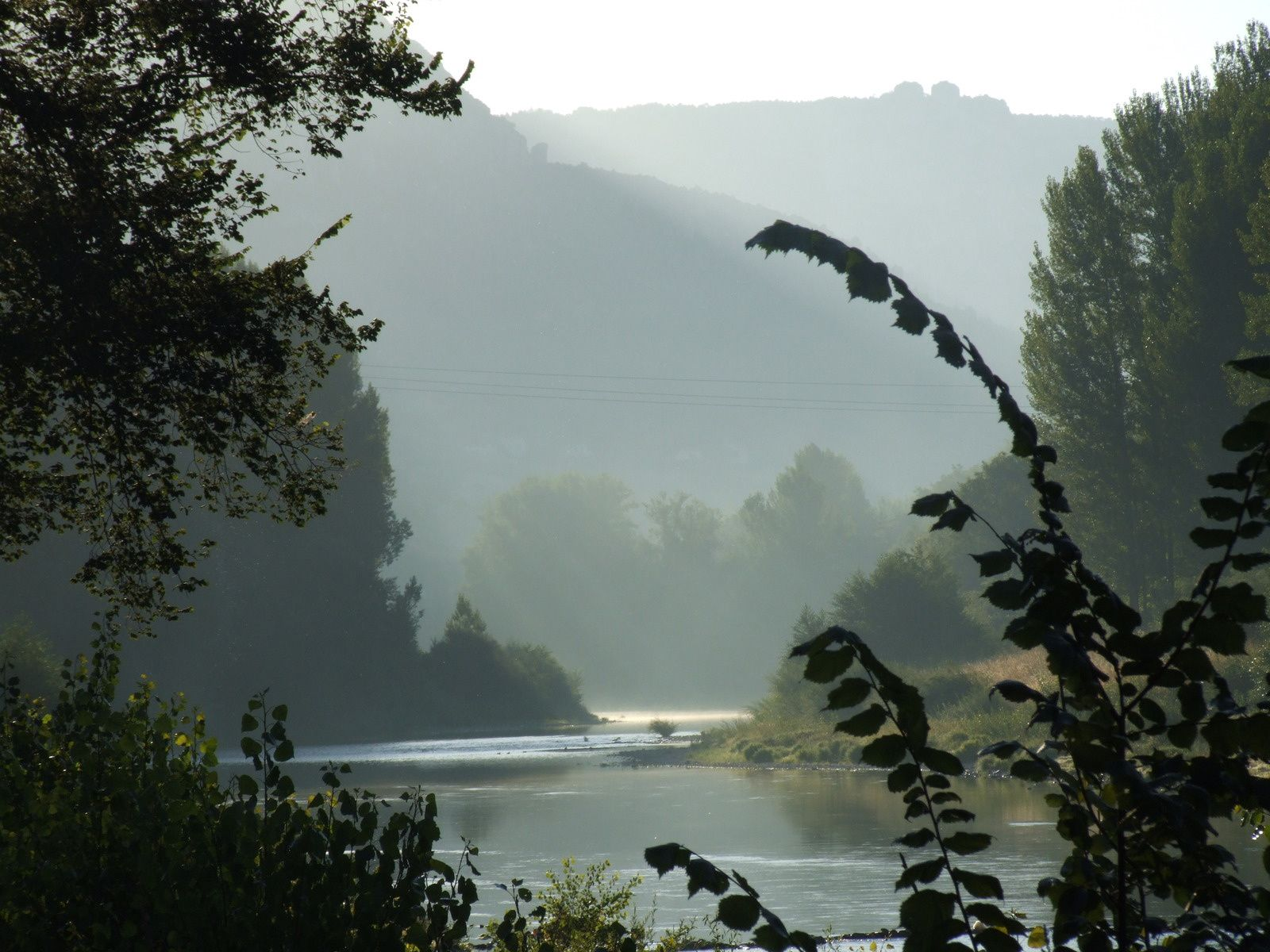 Plongée dans les Gorges du Tarn