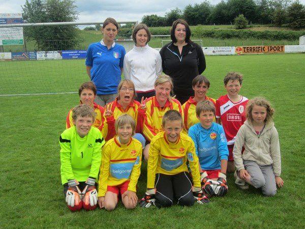 Les mamans du RFC Bioul 81 vont jouer au foot.