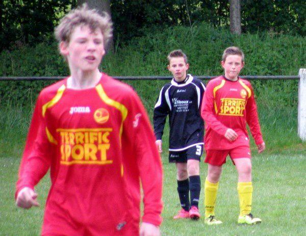 Match amical des U13 à Saint-Gérard.