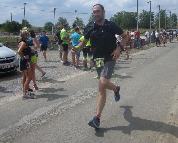 Le 25ème Jogging de Bioul en 2017.