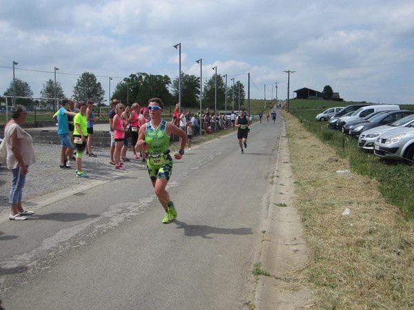 25ème Jogging de Bioul en 2017.