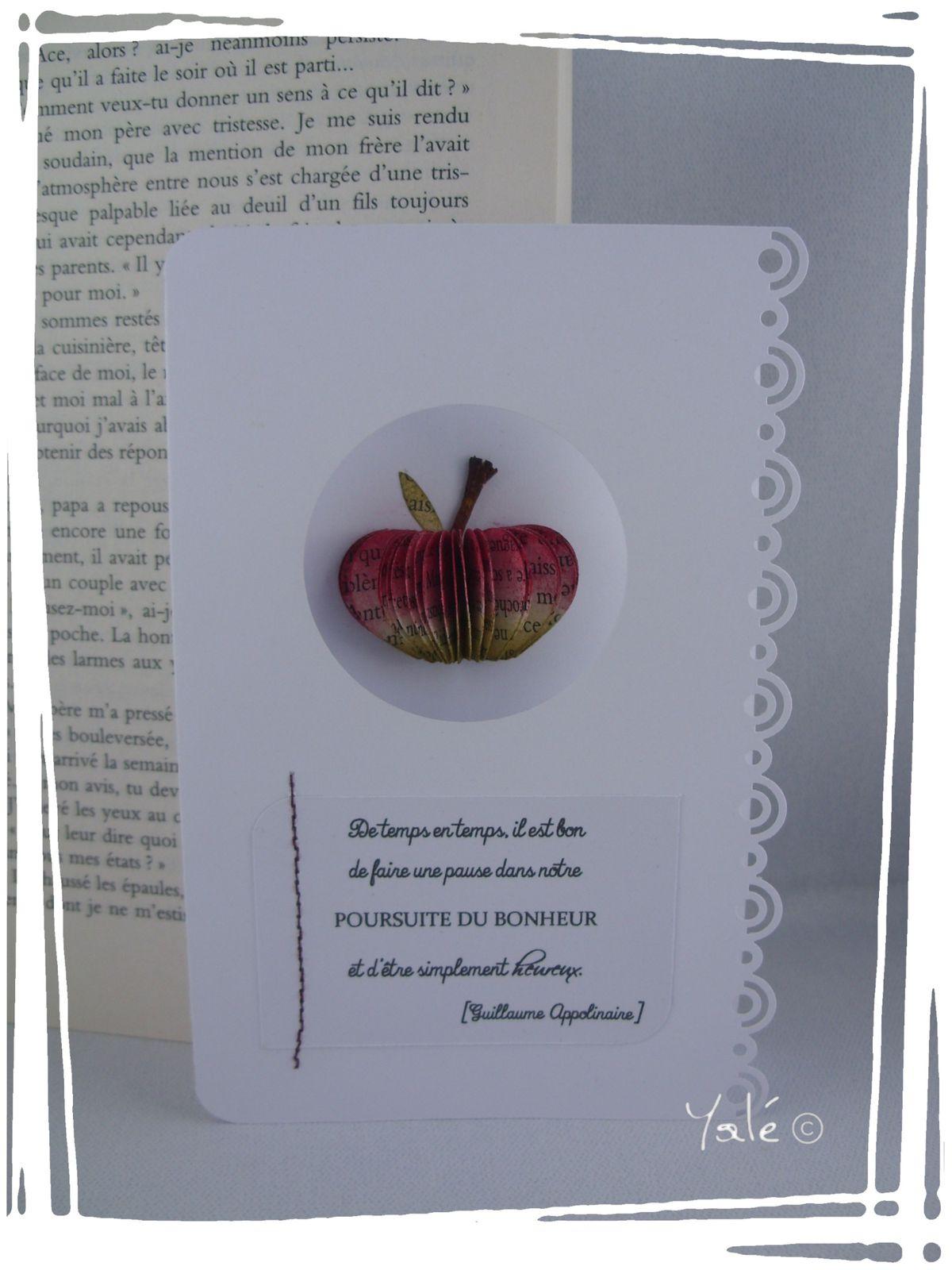 Scrap'carte {poésie de pomme}