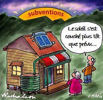 La débâcle de l'énergie solaire en Espagne.