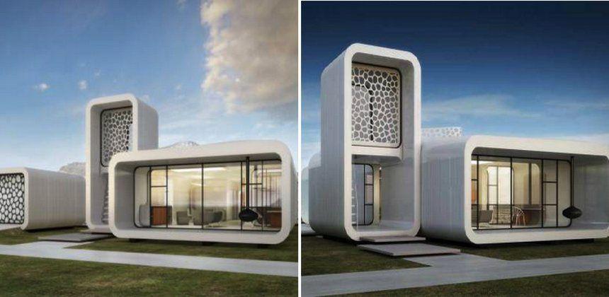 Bientôt des bâtiments entièrement imprimés en 3D à Dubaï