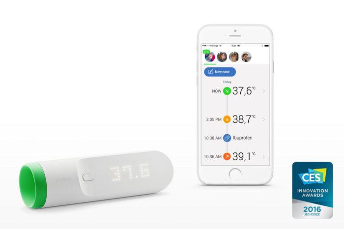 Le thermomètre connecté de Withings fait plus que prendre votre température