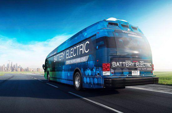 Proterra : un car électrique qui tient la charge pendant 560 kilomètres