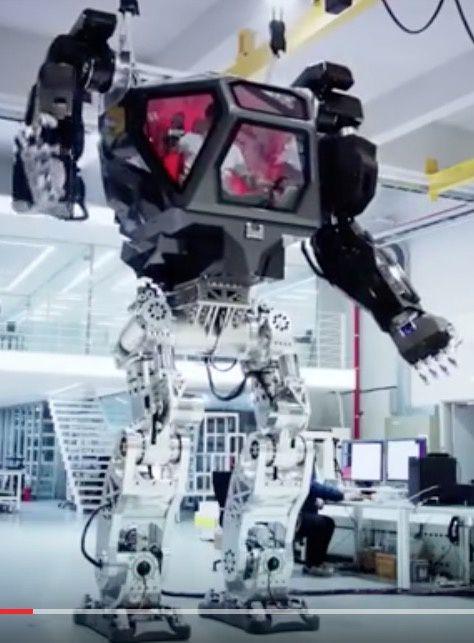Construit en Corée du Sud, ce robot colossal pourrait servir à désinfecter la zone de Fukushima