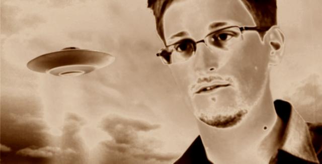 Rubrique INSOLITE : Edward Snowden commence à dévoiler des dossiers secrets convernant les Aliens ?