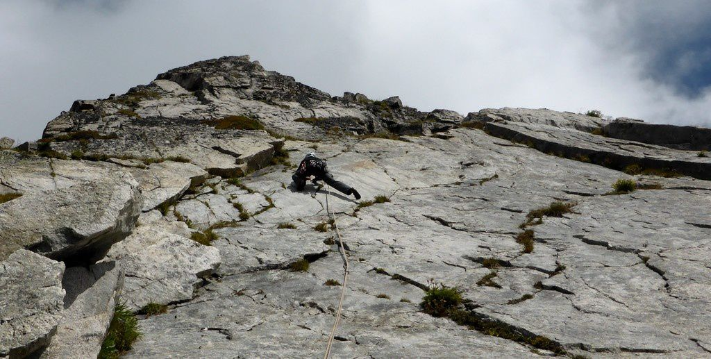 Joli granite en Lauzière