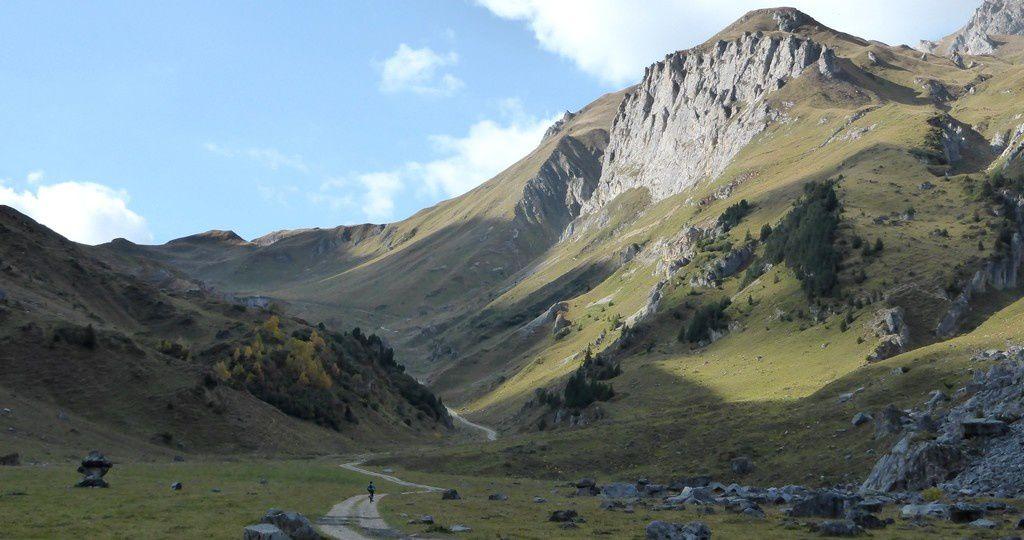Petit Mont Blanc pas la vallée des Avals