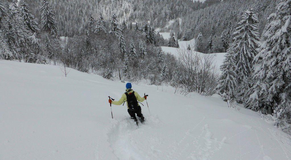 Grosse neige en Chartreuse
