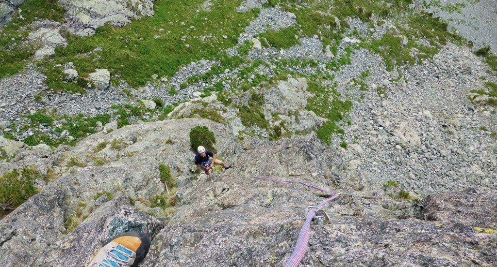 Une fin d'aprem d'escalade