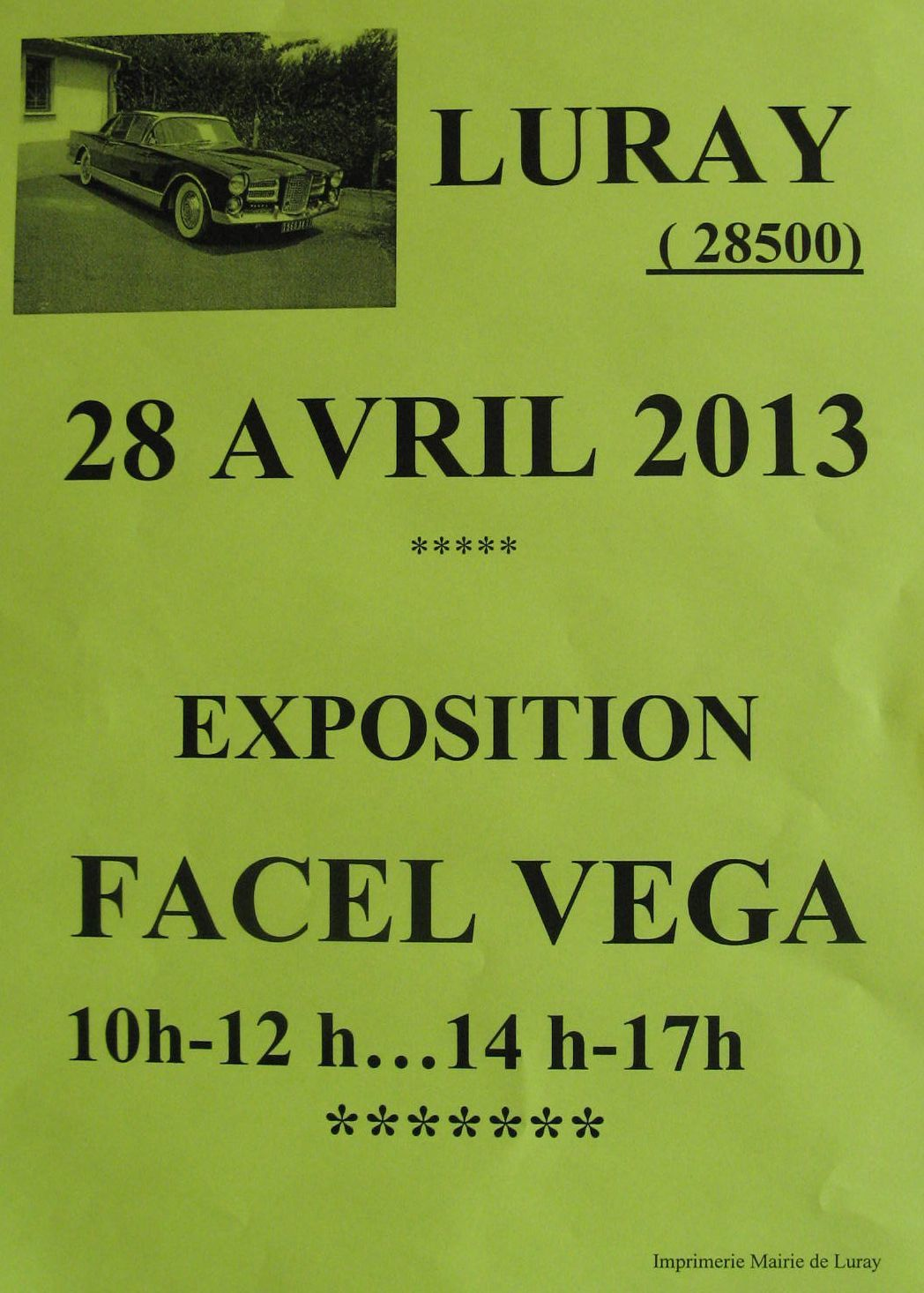 REUNION FACEL VEGA A LURAY
