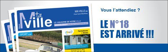 Le numéro 18 de Mtaville est arrivé dans votre boite aux lettres. il est aussi disponibles dans de nombreux endroits comme certains magasins ou à l'Office du tourisme.